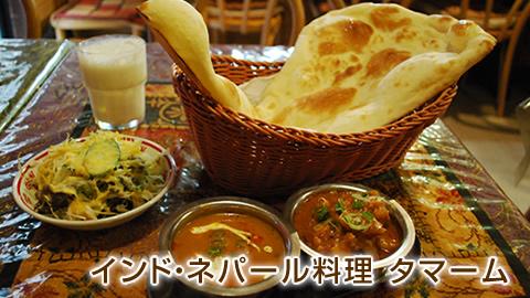 インド・ネパール料理 Tamamu(タマーム)